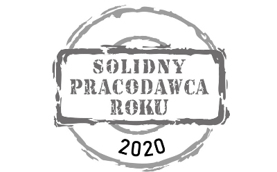 VOSTI NAGRODZONE TYTUŁEM SOLIDNEGO PRACODAWCY 2020