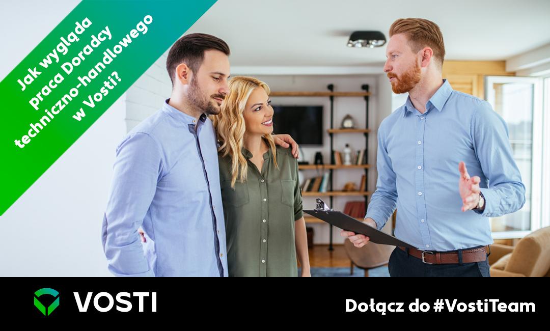 Jak wygląda praca Doradcy techniczno-handlowego wVosti? Dołącz do#VostiTeam